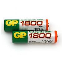 Аккумуляторная батарейка AA (R-6) GP 1800 mAh (180AAHC-U2)