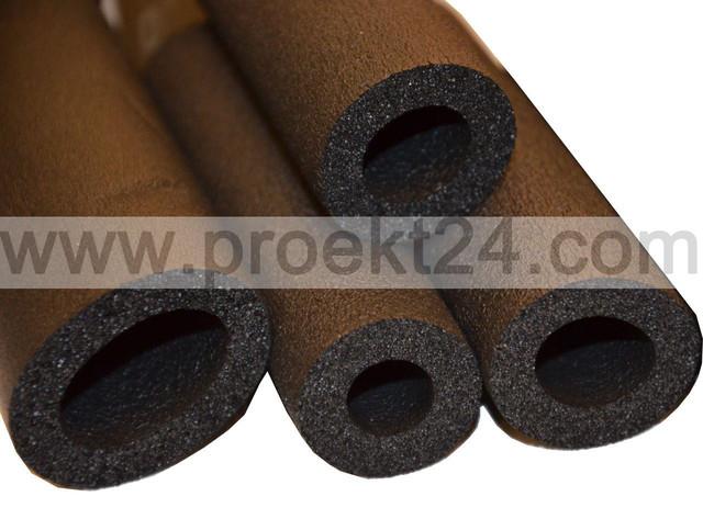 Утеплитель для труб 35/19, (Ø=35 мм, толщ.:19 мм, трубка из вспененного каучука)