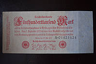 Германия 500 марок 1923 год  (Г-3)