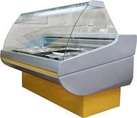 Вітрина холодильна РОСС SIENA 1,1-2,0 гнуте скло