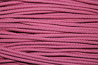 Шнур 6мм плотный (100м) розовый