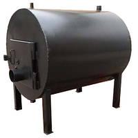Твердотопливная печь с водным контуром КВД 500