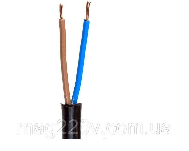 Кабель электрический ПВС 2*1,5 мм