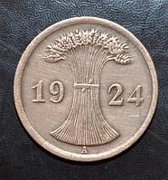 Германия 2 пфенинга 1924 год A