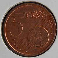 Монета Италии 5 евро центов 2006 г.