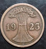 Германия 2 пфенинга 1923 год A
