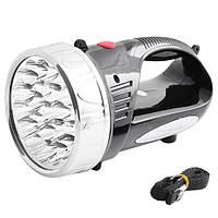 Автомобильный фонарь Yajia YJ 2805 на аккумуляторе 2000 mАh, светодиодный