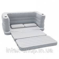 Bestway велюр-диван 75063 (200*160*64 см ), фото 2
