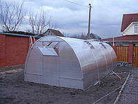 Теплица из поликарбоната 3х8х2.1 м. (поликарбонат 4 мм. в комплекте).