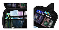 Топ товар!  Дорожный органайзер-косметичка для путешествий с петелькой для подвешивания