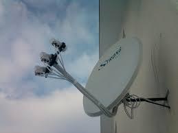 Спутниковое , бесплатное телевидение, около 100 каналов бесплатно.