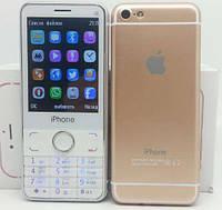 Кнопочный Iphone i6S, 2 сим.Новинка!!!(без яблока).