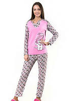 Теплая женская пижама LA-24
