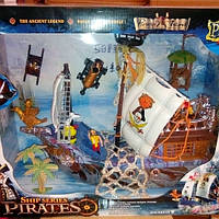 Детский пиратский корабль 50838С