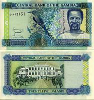 Гамбия - 25 Dalasis UNC