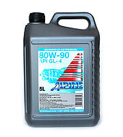 Масло трансмиссионное ALPINE Gear Oil SAE 80W-90 GL-5 5л