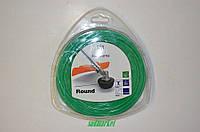 Леска косильная HUSQVARNA 2.0мм/130м круглая зеленая
