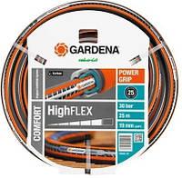 """Шланг поливочный GARDENA Comfort HighFlex Ø19mm(1/2"""") 50 м с профилем Power Grip без соединения"""