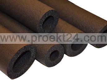 Утеплитель для труб Ø=8мм, толщ.:6мм (трубка из вспененного каучука)