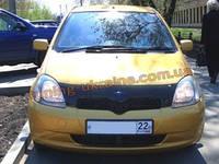 Дефлекторы капота Sim для Toyota Vitz, Toyota Yaris 2005-11