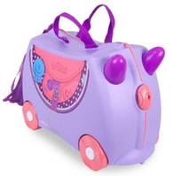 Чемоданчик детский дорожный на колесах транки Bluebell