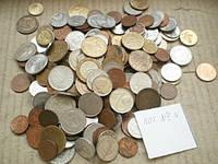 Гора иностранных монет! 400 шт. без России (Лот 4)