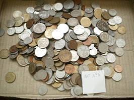 Гора иностранных монет! 500 шт. без России (Лот 6)