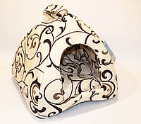 Collar Домик «Пирамида» для собак и кошек (38х38х38) (1739)
