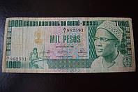 Гвинея  Биссау 8b GUINEA-BISSAU 1000 PESOS 1978 (БО)