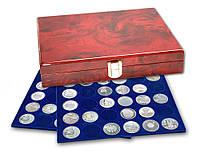 Лакированная деревянная кассета для монет - SAFE