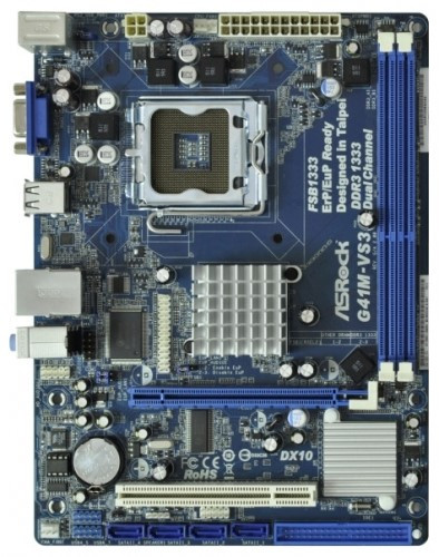 "Материнская плата ASRock G41M-VS3 s.775 OEM DDR3 ""Over-Stock"" Б/У"
