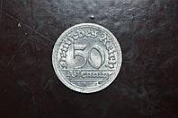 Германия 50 пфеннингов 1921 год F