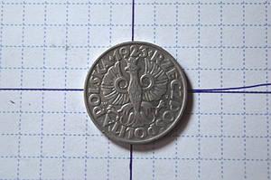 Польша 50 грошей 1923 год (АЖ-12)