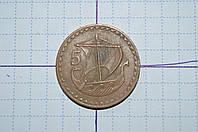 Кипр 5 милс 1960 год (АЖ-8)