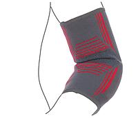 Бандаж на локтевой сустав вязанный эластичный усиленный R9104