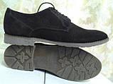 Стильні замшеві туфлі на шнурках VanKristi, фото 2