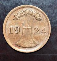 Германия 2 пфенинга 1924 год E