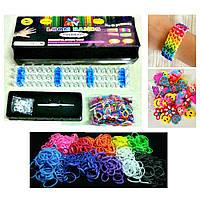 Топ товар!  Loom Bands, Волшебные резиночки Rainbow loom bands, Loom Bands набор для творчества, набор для плетения брасле