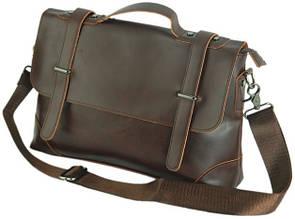 Мужской кожаный портфель Traum 7170-15, коричневый