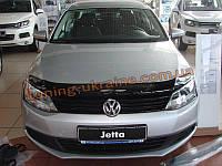 Дефлекторы капота Sim для Volkswagen Jetta 2010