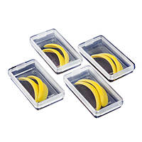 Набор форм для завивки желтый (S, M, L, LL)
