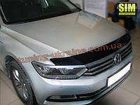 Дефлекторы капота Sim для Volkswagen Passat седан 2014