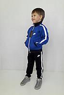 Детский спортивный костюм с начесом Nikе электрик