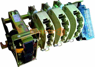 Контактор КТ60 160А  3 полюса 400В
