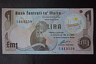 Мальта/Malta 1 Lira  1967 год (ББ) 3