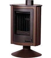 Отопительная печь–камин Masterflamme Piccolo II (коричневый бархат)