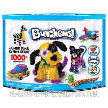 Оригинал! Конструктор Bunchems (Банчемс) Jumbo Pack 1000+