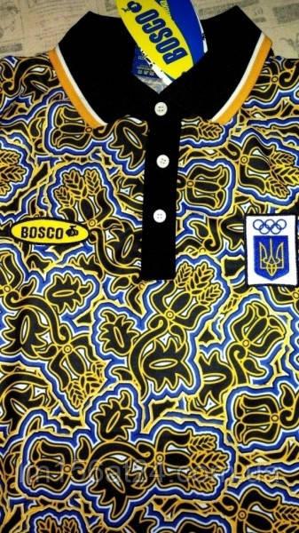 Футболка Bosco sport Ukraine. Боско спорт Украина/ Поло