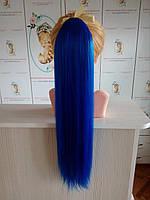 Хвост накладной синий