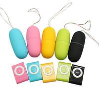 Виброяйцо Беспроводное виброяйцо пультом управление вибратор виброяйцо с пультом MP3